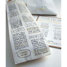 Art bakery packaging