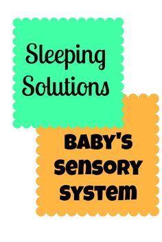 Different options to help baby sleep better at night and how the sensory system plays into it. Understand what helps calm your baby!