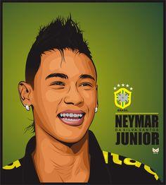 Vector Neymar Jr.