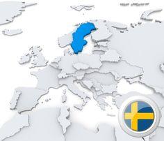 EURODANE - gospodarka Szwecja, PKB, inflacja, ludność, giełda, finanse, deficyt