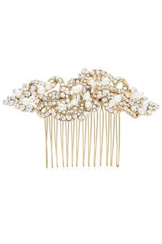 Pearl Twist Large Comb by RTR Bridal Accessories for $35 | Rent the Runway