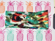 London And Ash Water Color Vacay Headband by LondonAndAsh on Etsy