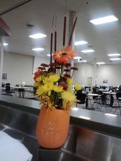 Eurest carved pumpkin
