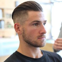 Classic and modern men's haircuts all share the same idea—flat, lean sides in one length on top. What length you choose for your male client doesn't matter, but by keeping this shape in mind you'll end up with a very masculine result. When you want to flatten or slim down a men's haircut, its best … Continued