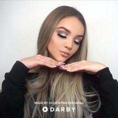 Smokey Eye Tutorial - Make-up Anleitung Beauty Make-up, Beauty Hacks, Hair Beauty, Beauty Tutorials, Beauty Tips, Make Up Looks, Cute Makeup, Gorgeous Makeup, Amazing Makeup