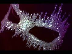 DIY Masquerade Mask: Ice Queen - YouTube