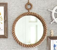Nautical and Beach Wall Decorations from Pottery Barn Kids