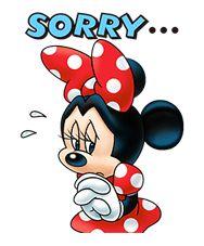 ¡Los nuevos stickers de Minnie Mouse son simplemente irresistibles! Tus chats serán los más lindos con las expresiones más monas de Minnie.