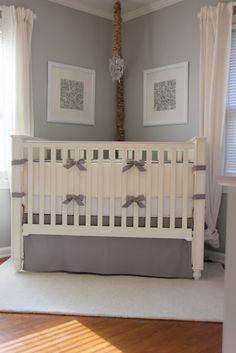 Dad - don't look at this crib - I love everything else about this nursery
