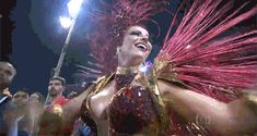Susana Vieira is a samba icon whose dedication to the Rio Sambodromo Carnaval has delighted journalists and fans for decades.