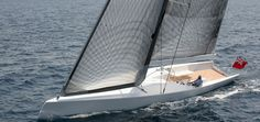 """German Frers: Boat Details: 60' Day Sailer """"Ciao Cianni"""""""