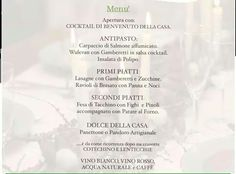 Menu fantasioso - due risate in classe