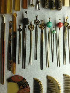 Geisha, Japanese Design, Japanese Art, Traditional Japanese, Turning Japanese, Japanese Hairstyle, Nihon, Japanese Beauty, Hair Sticks