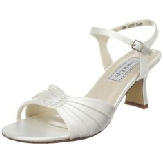 *Linea-One of my FAVORITES*-- -Touch Ups Women's Lana Ankle Strap Sandal,White Satin,9 W US Touch Ups,http://www.amazon.com/dp/B0047Z79T4/ref=cm_sw_r_pi_dp_YJpdtb01W4NM24P7