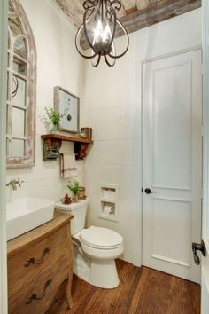 Love this half bath! Everything about it