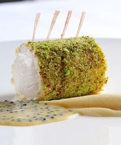 This scallop and prawn roulade recipe from Simon Hulstone is an elegant and subtly flavoured seafood starter that requires some knowledge of vacuum cooking to recreate to a high standard. The result is beautiful and will create quite an impact.