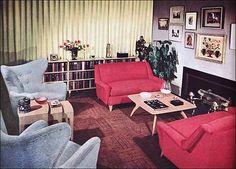 Heywood Wakefield, 1950s, furniture, mid-century, vintage, .    dtxmcclain.tumblr.com