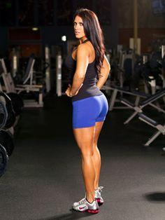 Amanda Latonas Pro Bikini Glute Workout