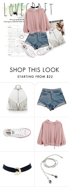 """Bad Intentions"" by sweet21sorrow ❤ liked on Polyvore featuring Rebecca Minkoff, Converse and Chicnova Fashion"