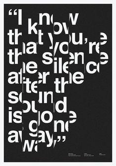 Creative Toko, Aisleone, International, Design, and Graphic image ideas & inspiration on Designspiration Minimalist Poster Design, Design Poster, Poster Designs, Typo Poster, Typographic Poster, Web Design, Type Design, Logo Design, Typography Inspiration