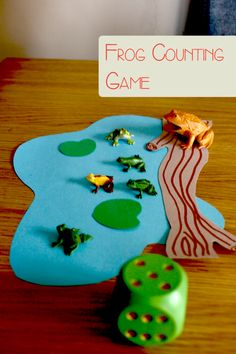 Frog Counting Game for Preschoolers