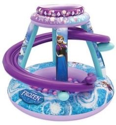 Bring the fun and excitement of Disney to your home with this Frozen Forever Sisters Playland. Your little one will have a blast tossing the soft flex balls into the playland's top and watching them as they swirl around and down into the bottom ball pit. Disney Frozen Toys, Disney Princess Frozen, Disney Toys, Baby Girl Toys, Baby Dolls, Toddler Toys, Kids Toys, Kids Clothes Sale, Baby Doll Accessories