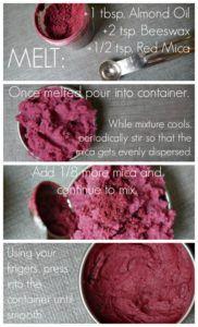 DIY blush instructions Collage