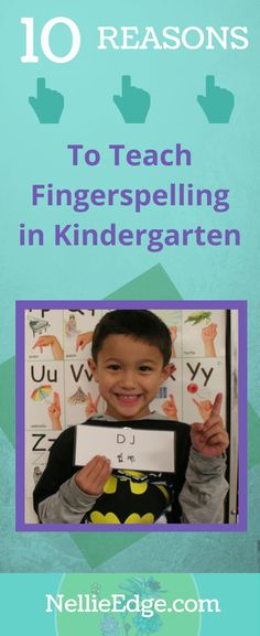 10 Reasons to Teach Fingerspelling in Kindergarten. Fingerspelling helps the brain remember letters and sounds: It becomes the memory hook to ABC Phonics. Kindergarten Handwriting, Kindergarten Blogs, Kindergarten Writing, Literacy, Phonics Song, Nice Handwriting, Learning Letters, Word Study, Writing Workshop