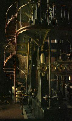 Soundwave Research: Waterworks Steam Engine - predating Steampunk by over a century
