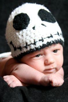 The Nightmare Before Christmas Jack Skellington Hat. $20.00, via Etsy.