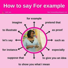 new ways of saying for example English Learning Spoken, Teaching English Grammar, Learn English Words, English Language Learning, English Study, English Sentences, English Idioms, English Phrases, English Lessons