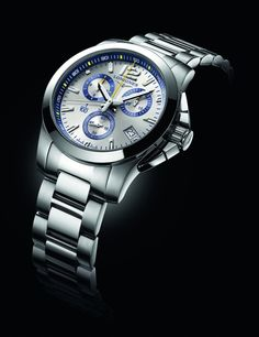 Elegance and precision combined – The Longines Conquest 1/100th St. Moritz