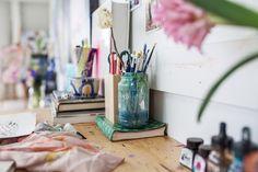 Annie Everingham's studio
