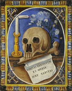 Czech School - Memento Mori 18th century