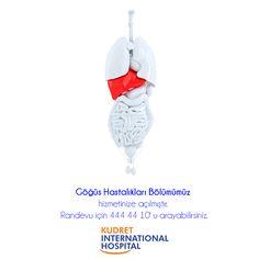 Göğüs Hastalıkları Bölümümüz hizmetinize açılmıştır, randevu için 444 44 10'u arayabilirsiniz. #kudretinternational #hastane #saglik #ankara #turkiye #turkey #hospital #health