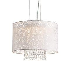 This 3-lights pendant from BAZZ is what you need if you want to add a bit of refinement to your #decor. |Cette suspension à trois lumières de BAZZ est parfaite si vous désirez ajouter une touche de délicatesse à votre décor. #lighting #lumiere