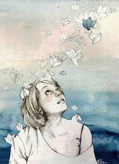 Portrait Illustrations by Elia Mervi