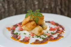 celeriac-remoulade with prawn and courgette fritters-and tapenade, Recipe from the Food Barn, CapeTown    South Africa