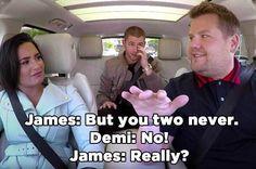 Nick Jonas And Demi Lovato On Carpool Karaoke Will Give You All The Nostalgia Feels