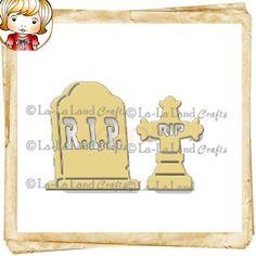 La-La Land Crafts Die - Tombstones (Set of 2)