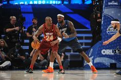 Kobe and LeBron what else do you need to say.