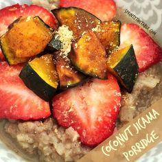 Coconut Jicama Porridge #vegan #grainfree #gf