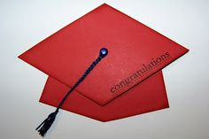 Blooming Where I'm Planted.....: Graduation Hats - Gift Card Holders