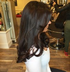 Black Coffee Hair With Ombre Highlights - 10 Cool Ideas of Coffee Brown Hair Color - The Trending Hairstyle Brown Hair Shades, Brown Blonde Hair, Brown Hair With Highlights, Hair Color Highlights, Light Brown Hair, Brunette Hair, Dark Hair, Dark Brown, Peekaboo Highlights