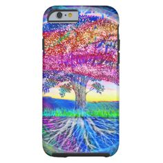 Tree of Life Rainbow Essence #tree #life #with #rainbows. #very #colorful pretty.