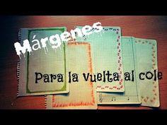 Márgenes para cuadernos/ Vuelta al cole ( Muy fáciles y bonitos) - Anahí