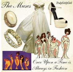 """""""Disney Style: The Muses"""" by trulygirlygirl ❤ liked on Polyvore"""