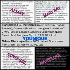 Check out this comparison between all these mascaras! Obviously Younique is wayyyy better! Why don't you check it out for yourself?! You've got nothing to lose! Younique is a 14 day money back guarantee! No questions asked! All products are hypoallergenic as well for those of you that have skin allergies! Visit my website to order your products now! #makeup #mascara #beauty #younique #3DLashes #fiberlashes #Calgary #hypoallergenicmakeup #nottestedonanimals #14daymoneybackguarantee…