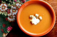 Soup's on! Warm up with these soup, chowder, and stew recipes - Sweet potato and apple soup - CSMonitor.com