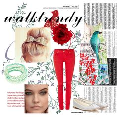 ♥ WALKTRENDY ♥ by edithtoth on Polyvore featuring Salsa, Repetto, Robert Rose, Accessorize and walktrendy